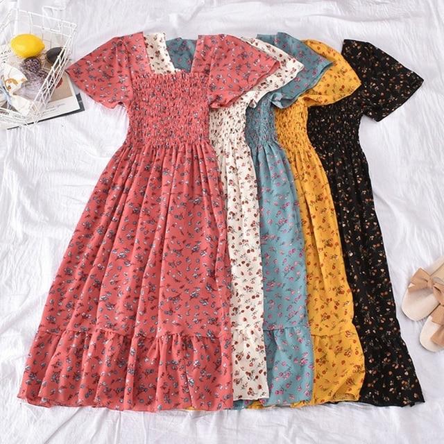 Casual Summer Dress Bohemian Elegnant and Long 1