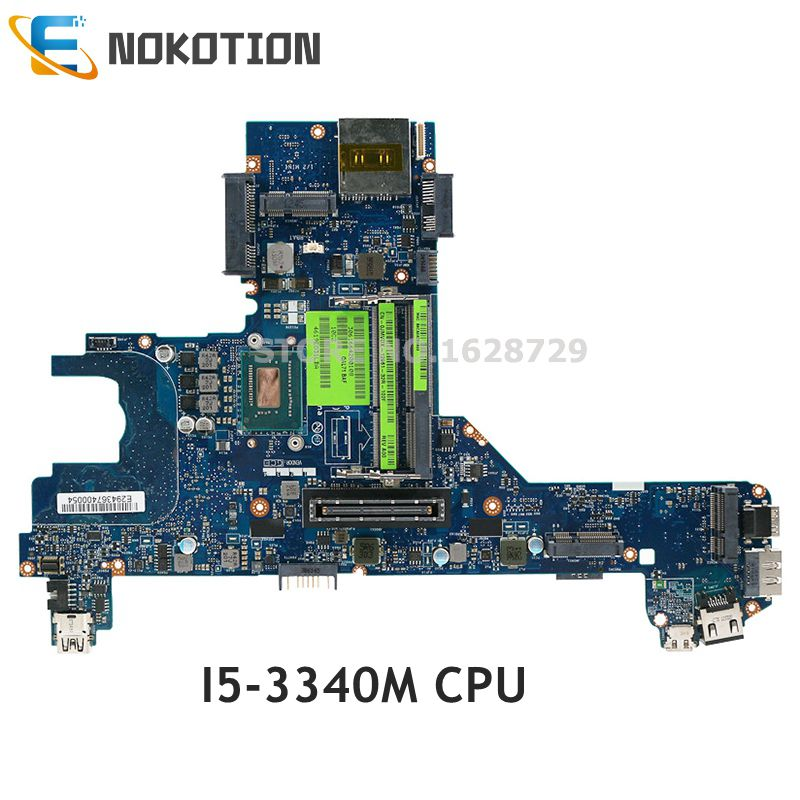NOKOTION CN-0GCHTD 0GCHTD GCHTD QAL70 LA-7741P Mainboard For Dell Latitude E6330 Laptop motherboard <font><b>I5</b></font>-<font><b>3340M</b></font> CPU image
