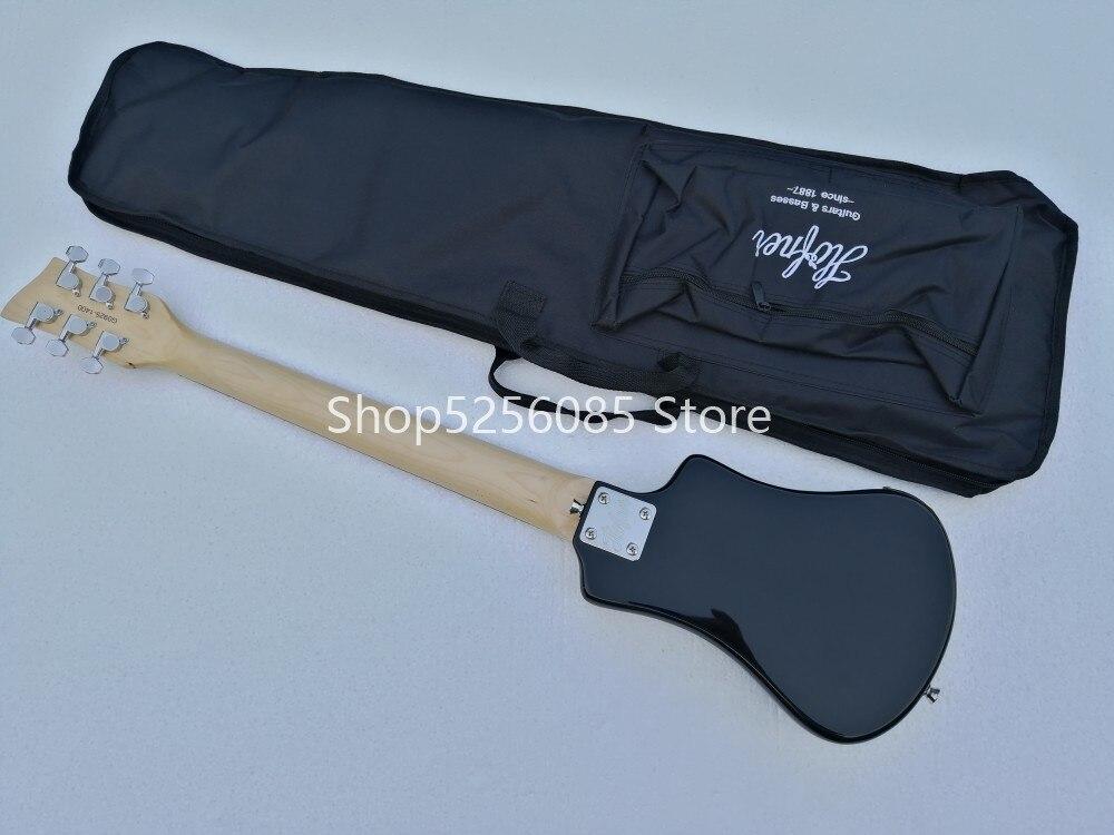 Livraison gratuite multi couleur hofner Shorty mini voyage guitare portable débutant guitare enfant guitare électrique - 5