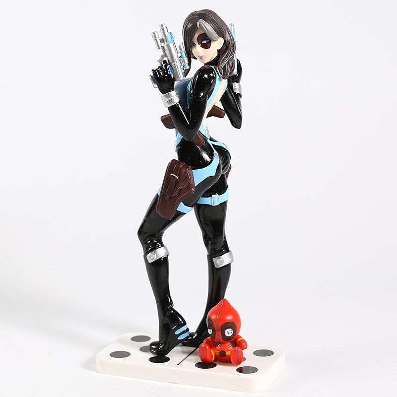 Image 3 - Marvel X Men Domino Neena Thurman Bishoujo 1/7 Scale PVC Figure Collectible Model Toy-in Action & Toy Figures from Toys & Hobbies