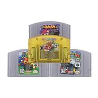 64 Bit Video Game Cartridge Console Card Mari Series Super 18 in 1/7 in 1 English Language US Version For Nintendo