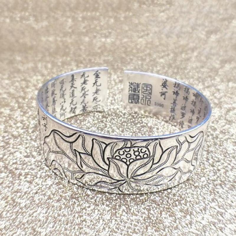 Bracelet Lotus Sutra Argent 925.
