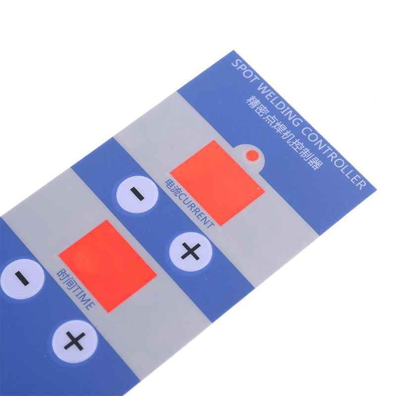 Pannello film PER LA visualizzazione digitale del Punto di tempo di saldatura e corrente del pannello di controllo di temporizzazione Amperometro Spot Saldatori NY-D04 D05