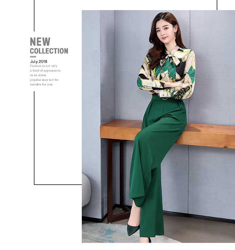 H9a0d6ccc6d264323aea221f3ce3f1af6i - Summer Two Piece Set OL Women Sets Plus Size Two Piece Set Top And Pants Wide Leg Pants Woman Tracksuit /outfit/suit/Set 2 Piece