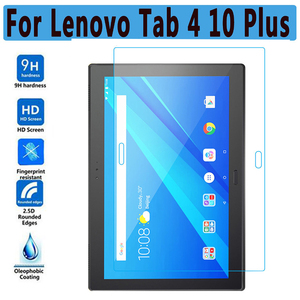 HD Tempered Glass for Lenovo Tab 4 10 Plus Screen Protector for TB-X704F TB-X704L TB-X704 Tablet 9H 0.33mm Glass Film Guard