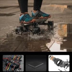 Image 5 - لوح تزلج كهربائي متعدد الوظائف الكبح التزلج أربع عجلات القيادة Longboard بلوتوث بعيد مقاوم للماء لوح تزلُّج