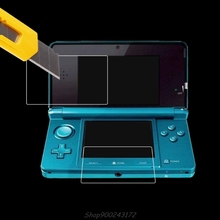 Lcd-Screen-Protector Nintendo Film-Top Console for New 3DSLL/XL Jy27 20-Dropship Bottom