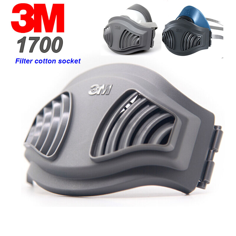3M 1700 Socket 1701 Filter Cotton 1210 Mask  1211 Dust Mask Can Be Combined With Each Other Gas Mask Dust Respirator