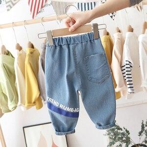 Pantalones vaqueros para niños y niñas, pantalones vaqueros informales a la moda, pantalones de traje para niños, ropa transpirable para 1, 2, 3, 4, 5, 6 años, 2020