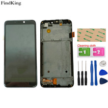 LCDs For TP-Link Neffos C7S TP7051A TP7051C LCD Display With Frame Touch Screen Digitizer Panel Assembly Repair Tools