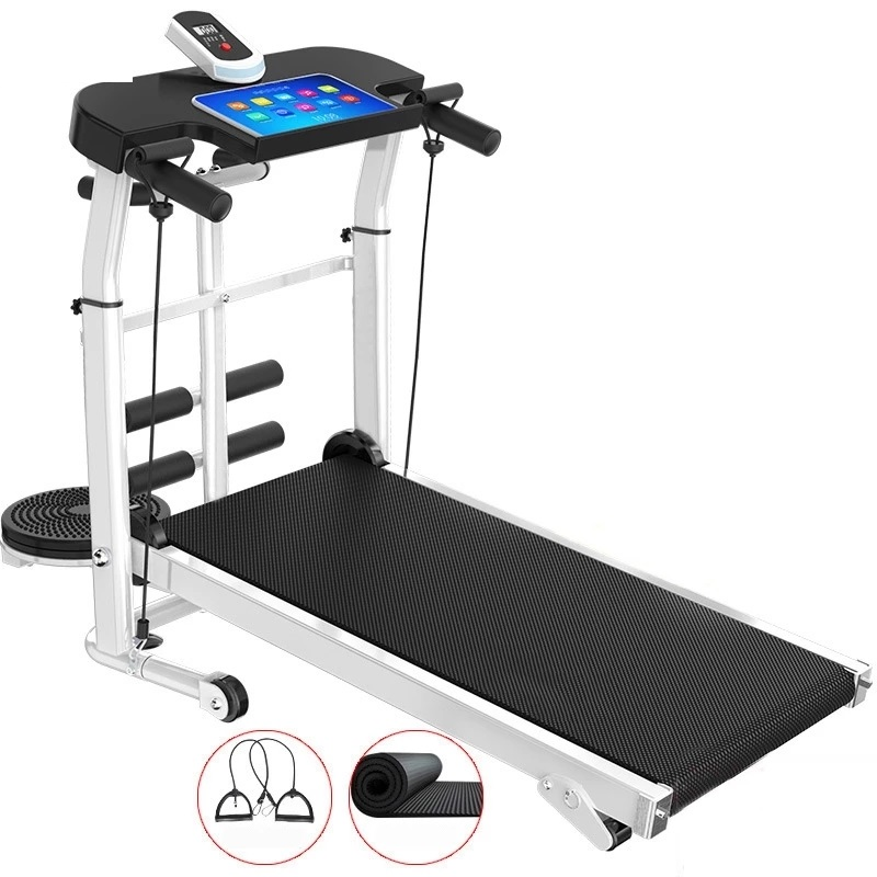 1 Steppers Fitness Machine Folding Multifunction Gym|Treadmills| For  Walking Silent Treadmill In Home Accessories Machine 4 Equipments