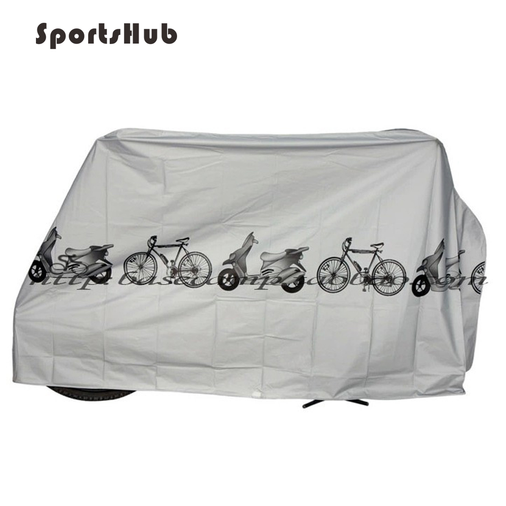 Outdoor UV Protector Bicycle Cover Bike Rain Snow Dustproof Cover Sunshine Protective Motorcycle Waterproof Cover C0072
