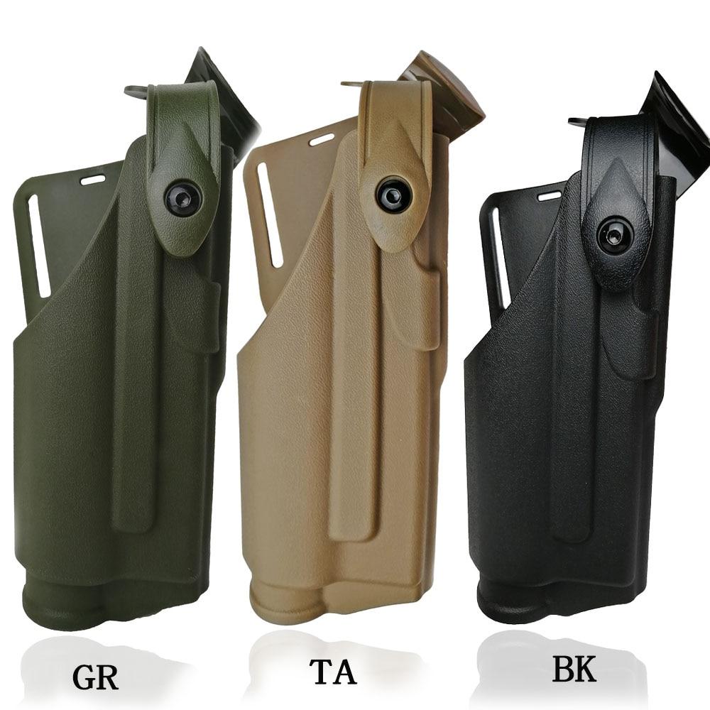 Airsoft glock Gürtel Holster Für glock 17 19 22 23 31 32 Jagd Schießen Lager Taschenlampe Taktische Licht Lager Gun holster