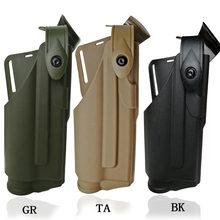 Airsoft glock de cinturón para glock 17 19 22 23 31 32 caza tiro teniendo linterna luz táctica teniendo funda de pistola
