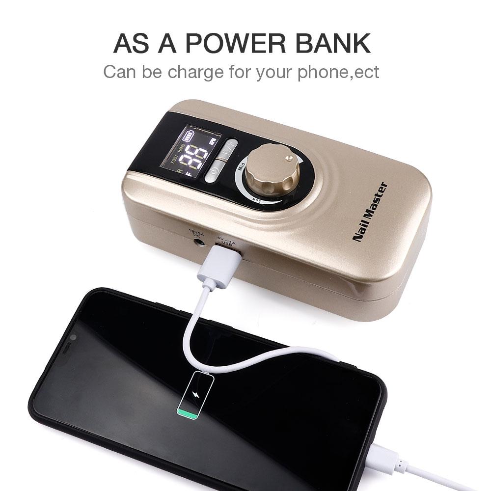 Купить машинка для маникюра liarty 35000rmp портативный аппарат с аккумулятором