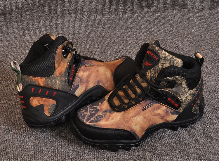 Zapatos senderismo redmond Men Winter outdoor hiking shoes full waterproof scarpe walking trekking Climbing hunting boots man Hiking Shoes     - title=