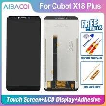 AiBaoQi nowy oryginalny 5.99 calowy ekran dotykowy + 2160x1080 wymiana montaż wyświetlacza LCD dla Cubot X18 Plus Android 8.0 telefon