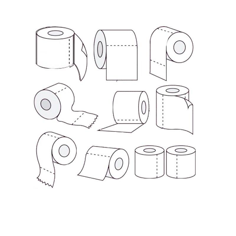 Toilet Roll Metal Cutting Dies 2020 New DIY Scrapbooking Frame Die Craft Embossing Cutting Die
