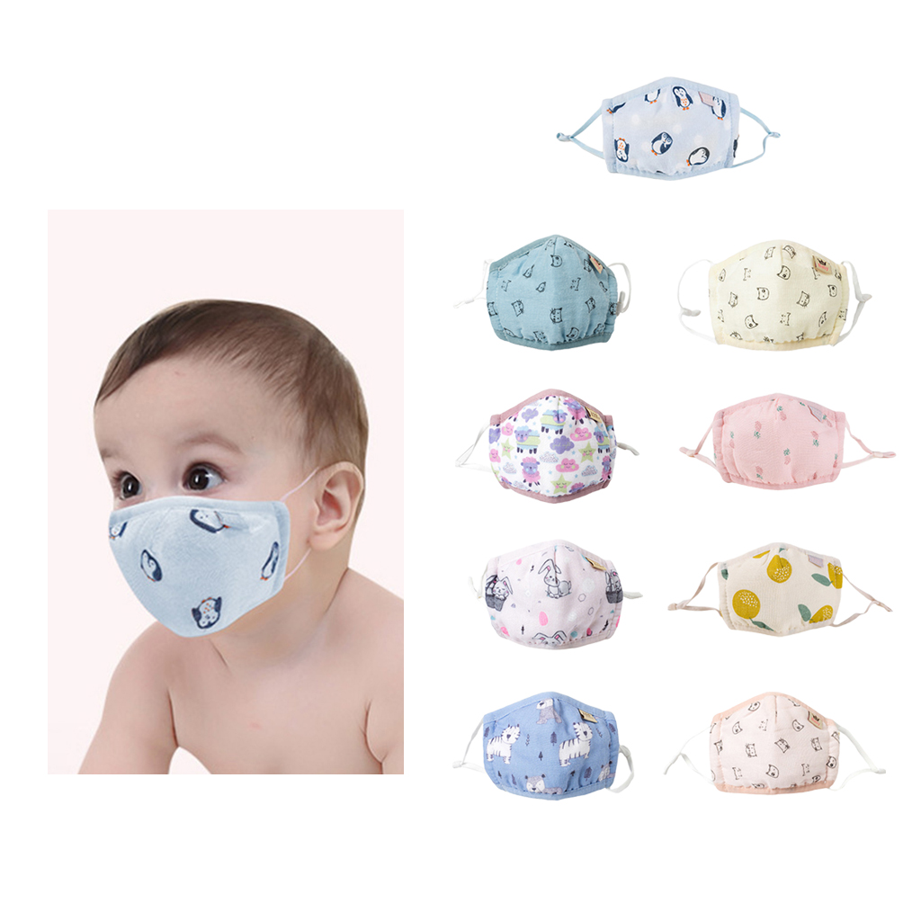 Cartoon Children PM2.5 Mouth Mask Kids Breath Valve Anti Haze Breathable Mask Anti Dust Mouth-Muffle Respirator Face Masks
