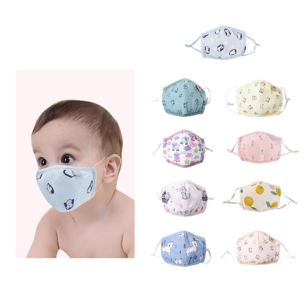 Cartoon Children PM2.5 Mouth Mask Kids Breath Valve Anti Haze Breathable Mask Anti Dust Mouth-Muffle Respirator Face Masks