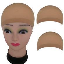 2 шт. Резинка кружево повязка сетка для волос дышащая сетка парик шляпа мягкий нейлон стрейч шапочка ++кружево повязка дышащая