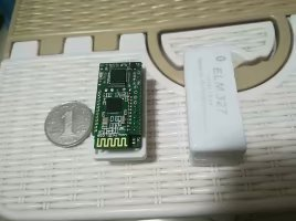 OBD Vehicle Information Acquisition Module Obtains Vehicle Parameters Such as Speed and Speed and Outputs Them Through Bluetooth