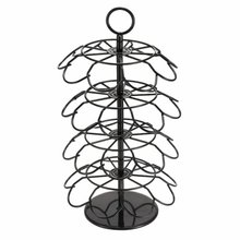 Rotating 36 Capsule Coffee Revolving Pod Holder Tower Stands durable Racks 4-layer holders