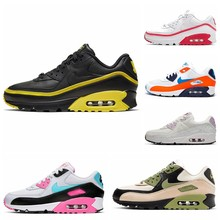 2021 Offre Spéciale airs max 9O Glasgow Style Chaussures De Running Femme Taille 36-40 sari coussin Chaussures De Sport Hommes Baskets Taille 40-45