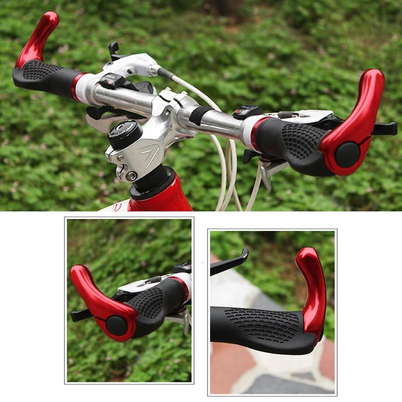 Adjustable  Secondary Handle Bicycle Handlebar Grip 1 Pair Bike Bar Ends Horn