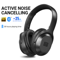 Langsdom BT25 Active Noise Cancelling Wireless Bluetooth Headphones ANC Hifi 3D Gaming Headset Headphone for PUBG Overwatch