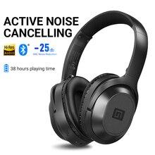 Langsdom BT25 активное шумоподавление беспроводные Bluetooth наушники ANC Hifi 3D игровая гарнитура наушники для PUBG Overwatch