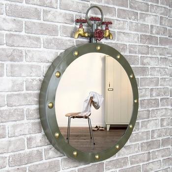 Miroir Robinet de fer Loft industriel