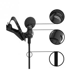 Image 2 - Clip on Collar Tie Mobile Phone Lavalier Microphone Mic for iOS Android Cell Phone Laptop Tablet Recording