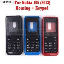 HKFASTEL-carcasa de alta calidad para Nokia 105, funda de teléfono móvil versión del año 2013 + teclado en inglés/ruso