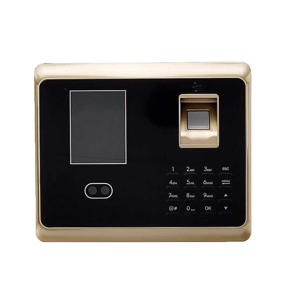 ZOKOTECH 300 Face Fingerprint Password ID Card Recognition Time Attendance Machine 2.8 Inches TFT Screen Checking-in Recorder