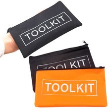 Waterproof Oxford Cloth Tools Set Bag Zipper Storage Instrument Case Pouch