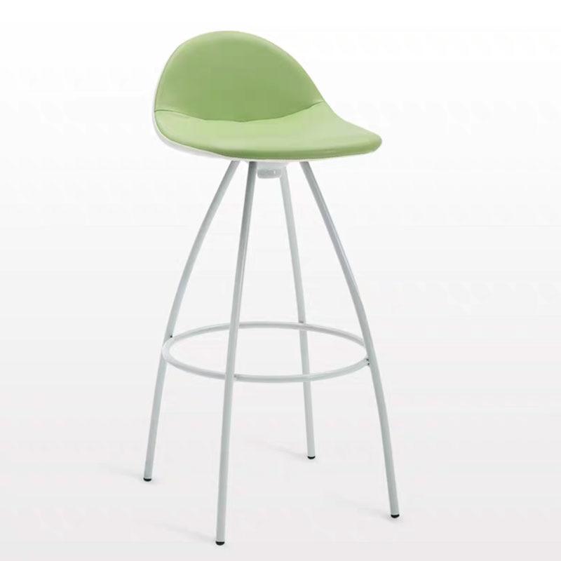 Modern Bar Chair Fashion Simple Creative Home Bar Front Desk Counter Leisure Non Slip Foot Pad High Chair