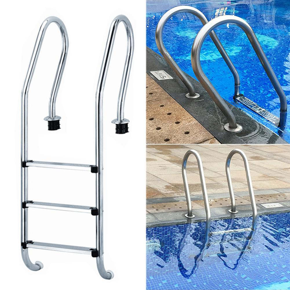 Swimming Pool Ladder Rung Steps Stainless Steel Replacement Anti Slip  Ladder Swimming Pool Accessories