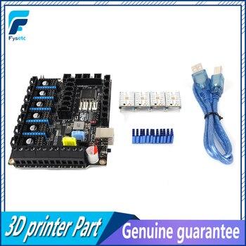 S6 V1.2 Board 32 Bit Control Board WIth 4pcs TMC2208 UART Stepper Motor Driver Flying Wire MX Connector VS F6 V1.3 SKR V1.3