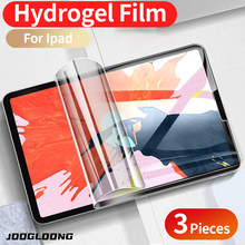 3 adet hidrojel Film için Ipad Pro 11 9.7 10.2 10.5 2020 2019 mini 5 hava 4 3 2 1 koruyucu iPad 8th 7th nesil ekran koruyucu