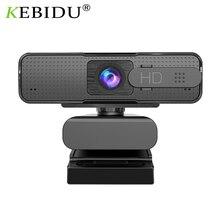USB Webcam Camera H701 Live-Online Microphone Computer Autofocus 1080pweb with HD AF