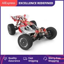 WLtoys 144001 2.4G course RC voiture compétition 60 km/h métal châssis 4wd électrique RC formule voiture télécommande jouets pour enfants