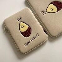 Koreanischen Tasche für iPad 10,5 Warenkorb Fall für iPad Luft 10,2 Ins Süße Kartoffel Hülse für iPad 12,9 pro 15 zoll 11