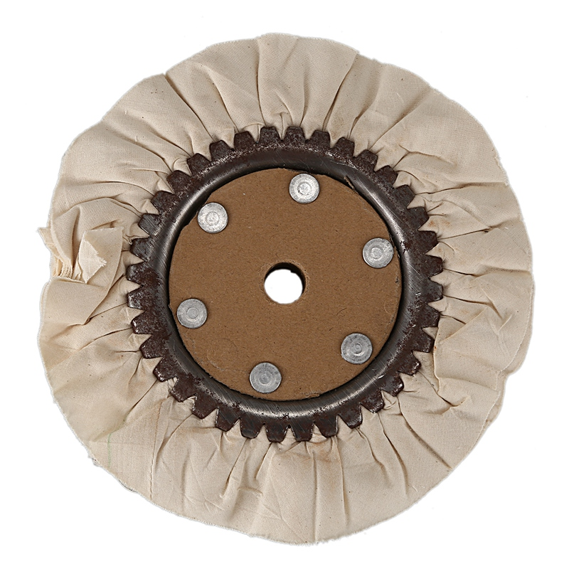 Round Cotton Airway Polishing Buffing Pad Wheel Tool Attachment Metal Polisher Abrasive Polishing Tool|Polishers| |  - title=
