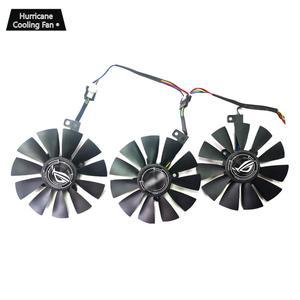 Image 2 - 新しい 87 ミリメートル T129215SU グラフィックスカード冷却ファン asus ストリックス GTX 1060 1070 1080 1070Ti 1080Ti 980Ti/R9 390X R9 390 RX 480 580