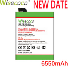 Wisecoco BV9000 6550mAh Newly Produced Battery For Blackview BV 9000 Pro High Quality Phone Replacement +Tracking