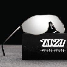 وصل حديثًا نظارة شمسية مستقطبة من خليط معدني طراز عتيق موديل عام 20/20 للرجال بعدسات متدرجة كبيرة الحجم بتصميم AK17157 للنساء