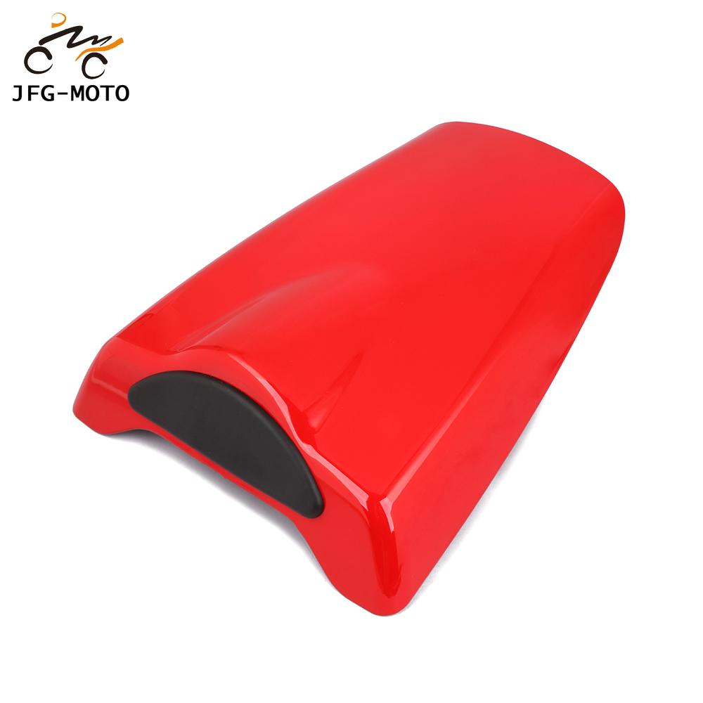 Blue JFG RACING Motorcycle Rear Seat Cowl Passenger Pillion Fairing Tail Cover For Yamaha R1 1998-1999