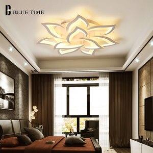 Image 3 - Lustres 현대 led 샹들리에 거실 침실 식당 주방 설비 조명 아크릴 표면 마운트 샹들리에 조명