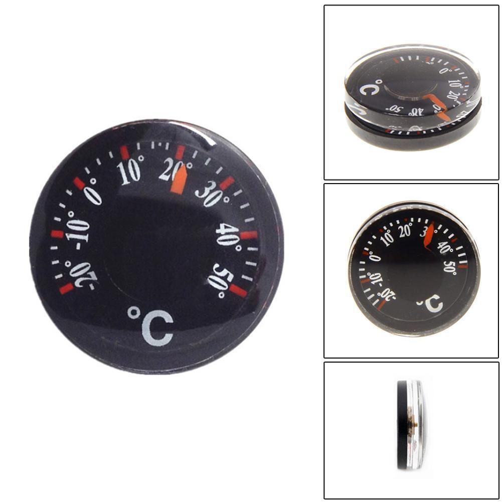 Outdoor Camping Hiking Portable Thermometer Celsius Waterproof Thermometer Pointer Round Plastic Thermometer F1W5